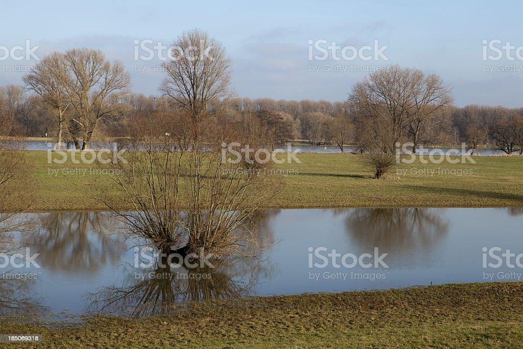 Rhineland landscape royalty-free stock photo