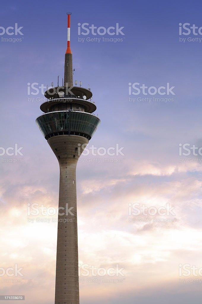 Rhinetower in Duesseldorf, Germany stock photo