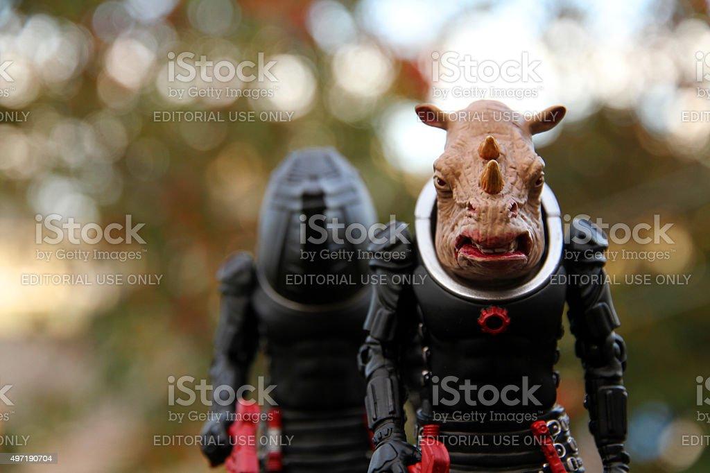 Rhinocerid stock photo