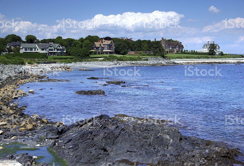 Rhode Island Coast stock photo