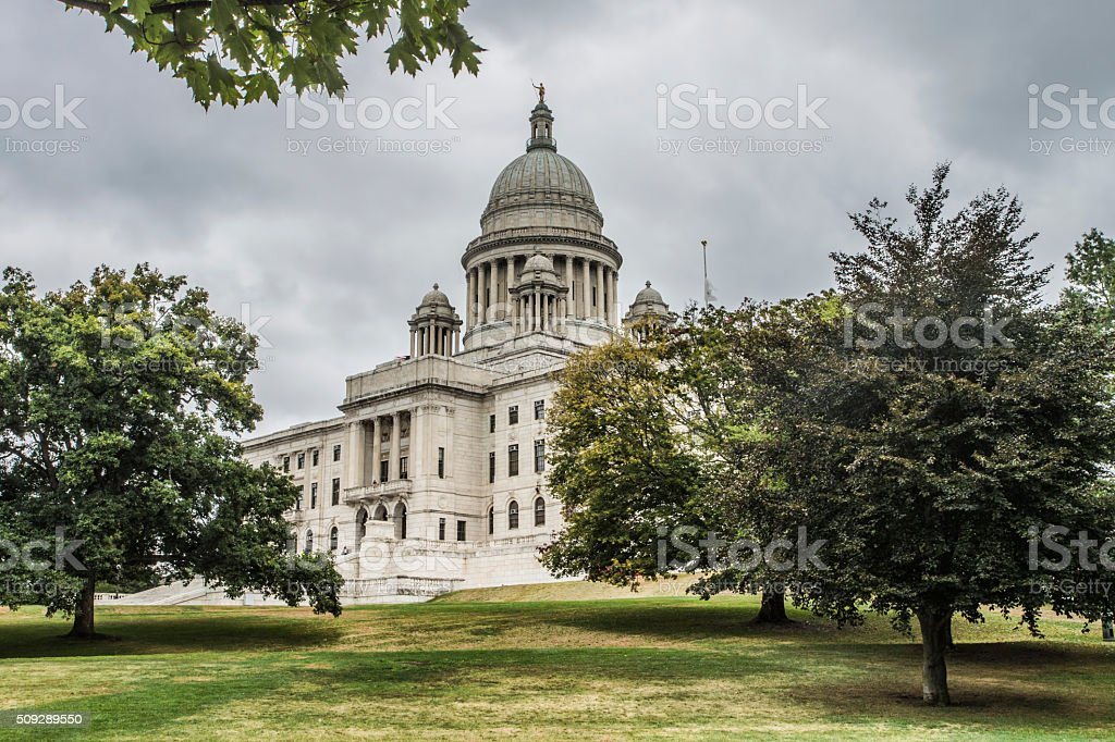 Rhode Island State Capitol Building stock photo