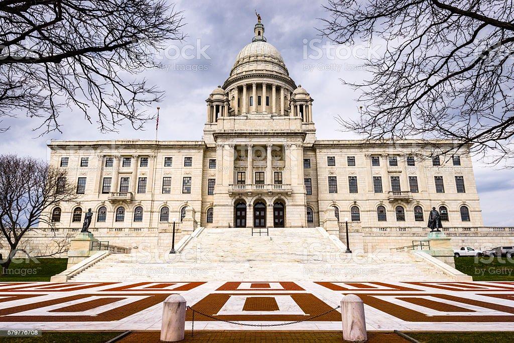 Rhode Island State House stock photo