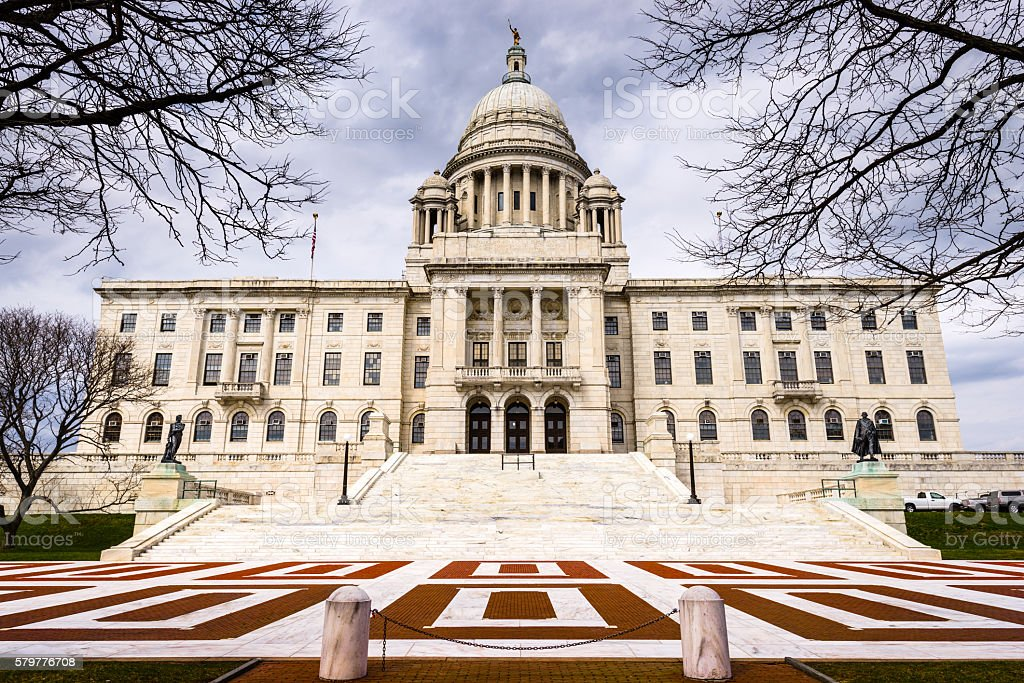 Rhode Island State House stock photo