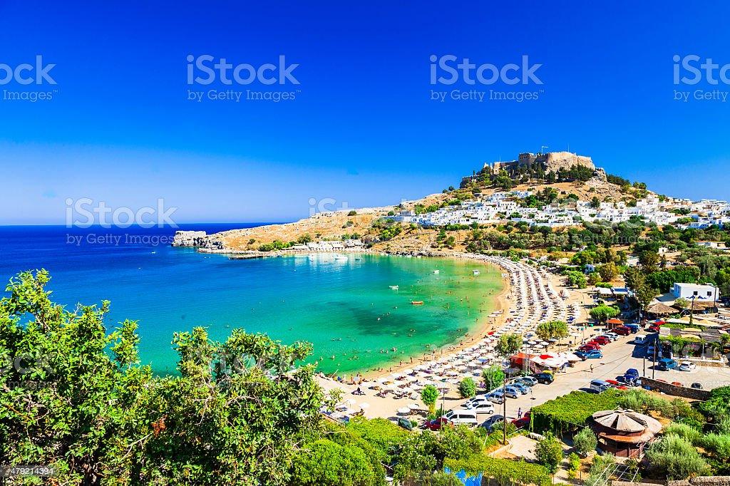 Rhodes Island,Greece. stock photo
