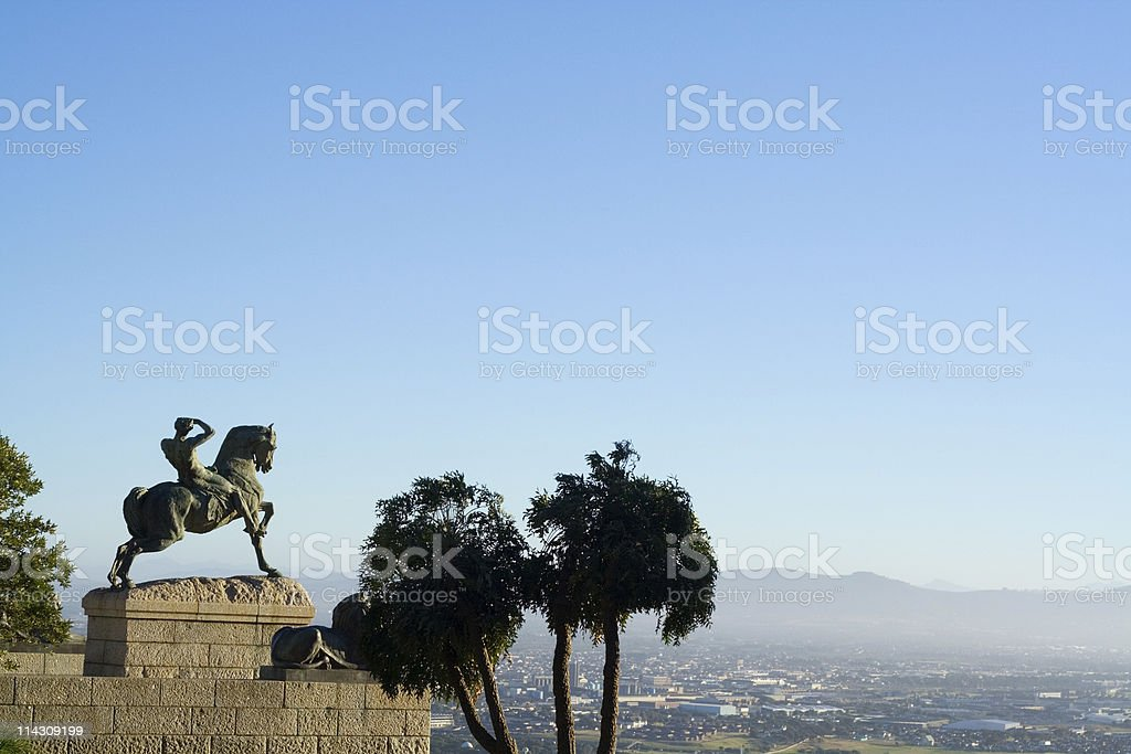 Rhodes Memorial, Cape Town royalty-free stock photo