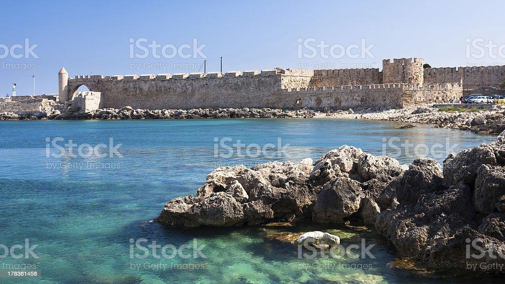 Rhodes photo libre de droits