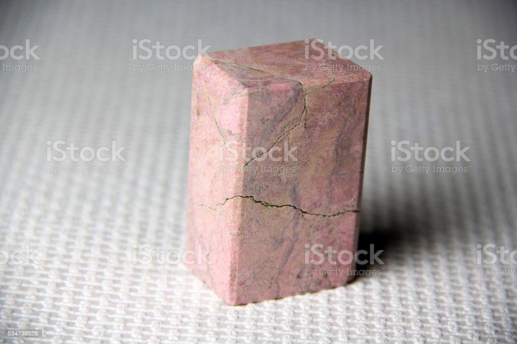Rhodonite stock photo