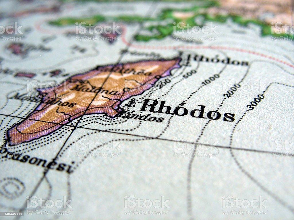 Rhodos royalty-free stock photo