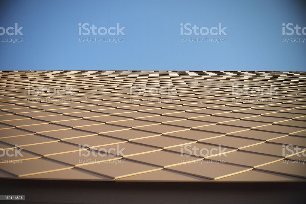 Rhombus tile. stock photo