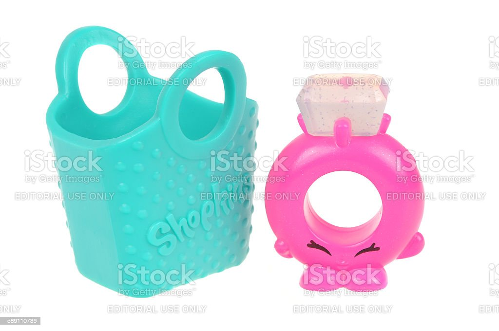 Rhonda Ring Shopkins Happy Meal Toy stock photo