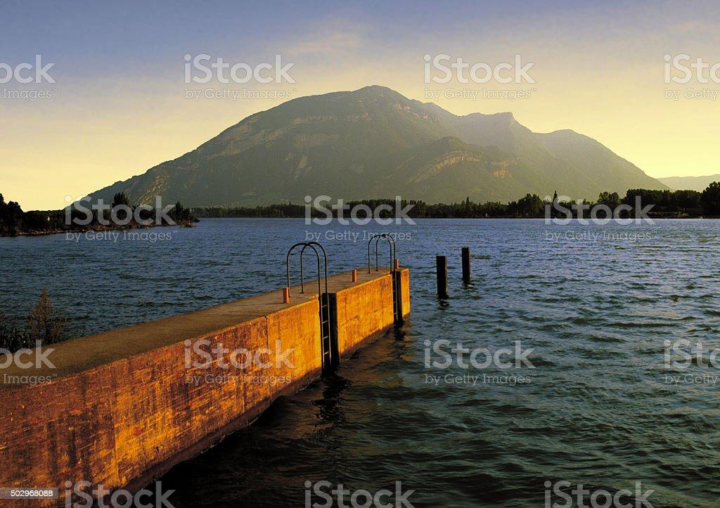 rhone stock photo