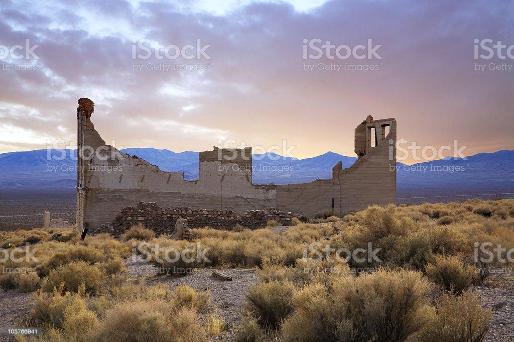 Rhyolite Nevada stock photo