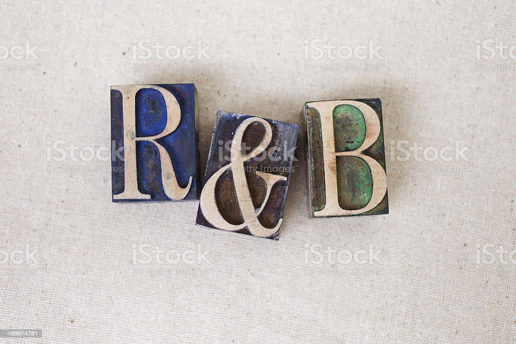 Rhythm and blues royalty-free stock photo