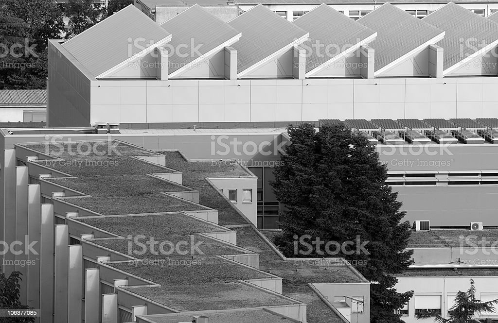 Rhythm of Roofs royalty-free stock photo