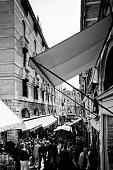 Rialto Bridge market