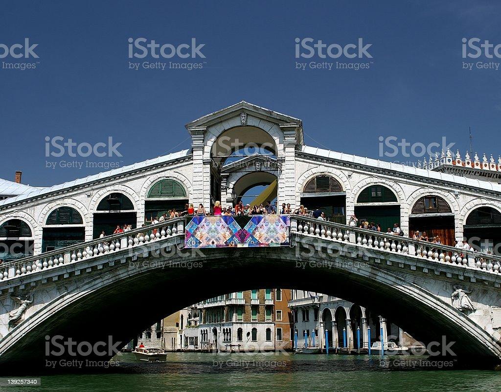 Rialto Bridge(Venice) royalty-free stock photo