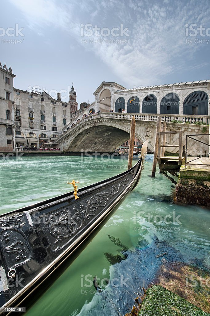 Ponte di Rialto (Venezia) stock photo