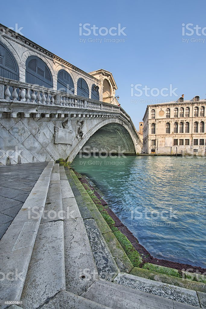 Ponte di Rialto (Venice) royalty-free stock photo