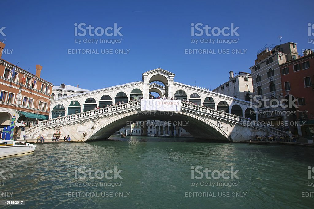 Rialto Bridge royalty-free stock photo