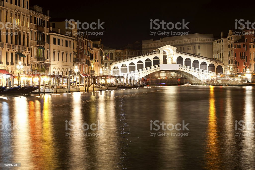 Rialto Bridge (Venice/Italy) stock photo