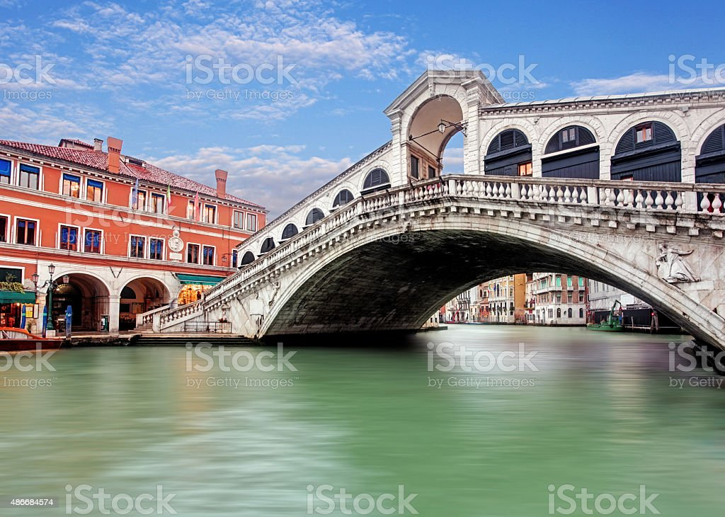 Rialto bridge - Venezia stock photo