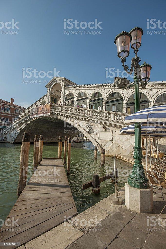 Rialto bridge, Venice, Italy royalty-free stock photo