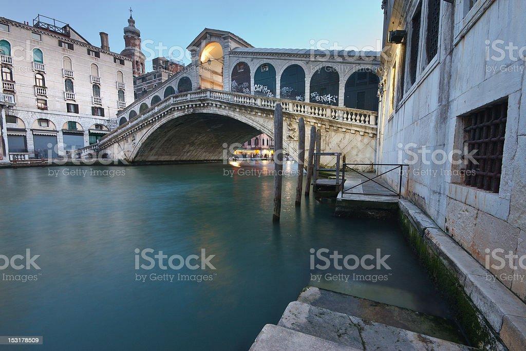 Rialto bridge, Venice royalty-free stock photo