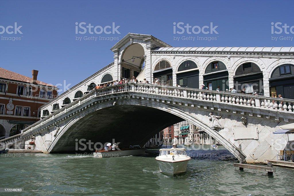 Rialto Bridge - Venice stock photo