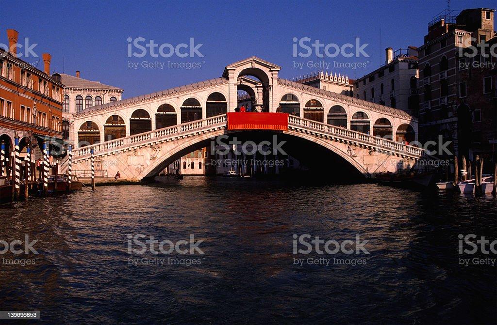 Rialto Bridge-Venice Italy royalty-free stock photo