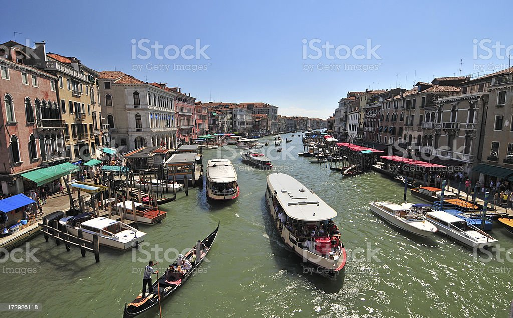 Rialto View royalty-free stock photo