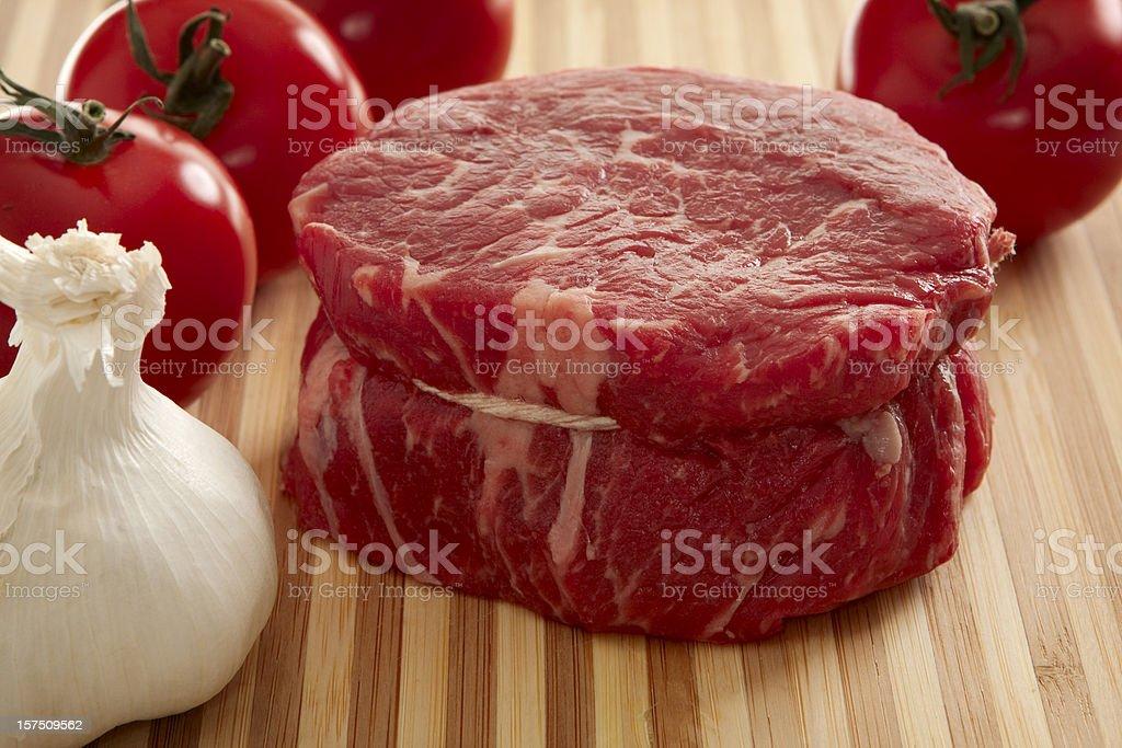 Rib Eye Steak royalty-free stock photo