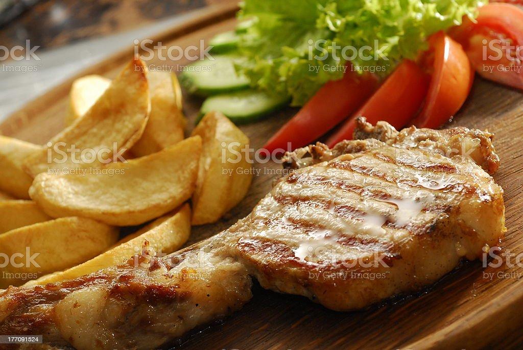 rib steak royalty-free stock photo