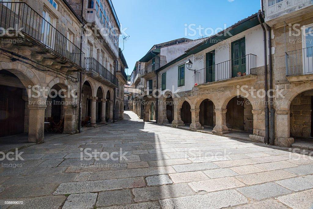 Ribadavia in Galicia, Spain stock photo
