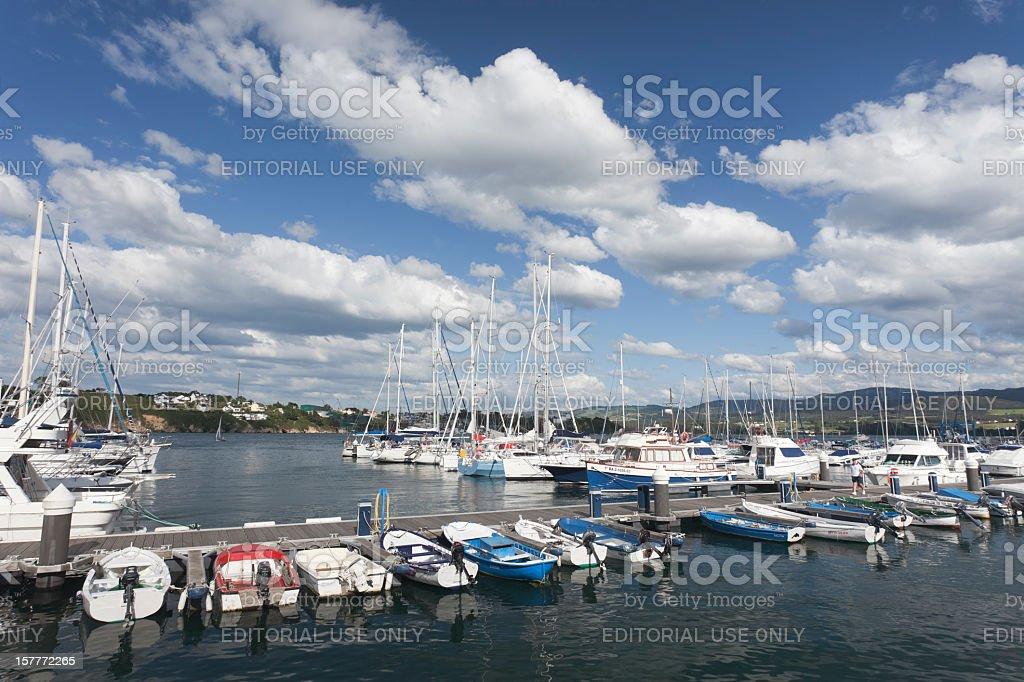 Ribadeo stock photo