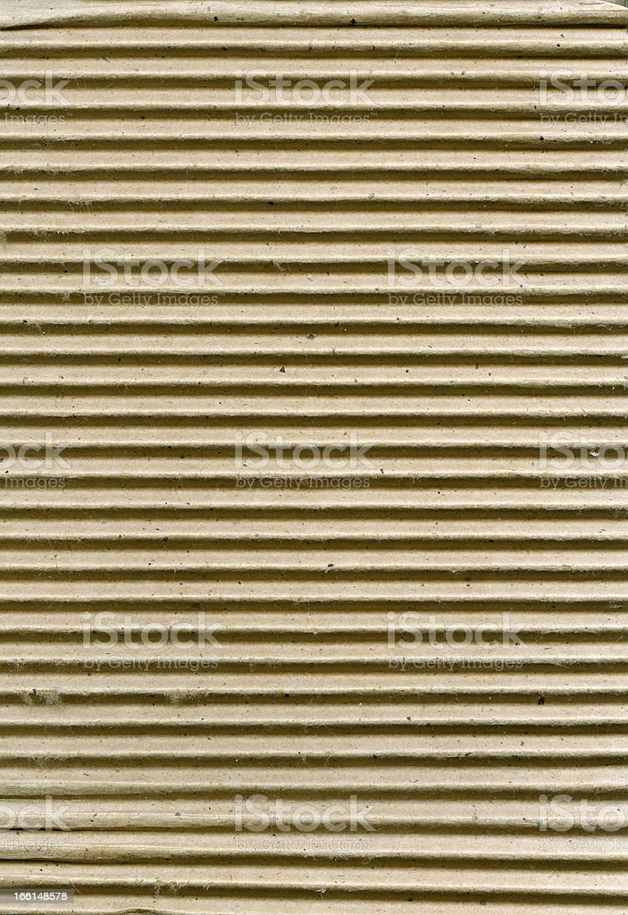 Ribbed cardboard royalty-free stock photo