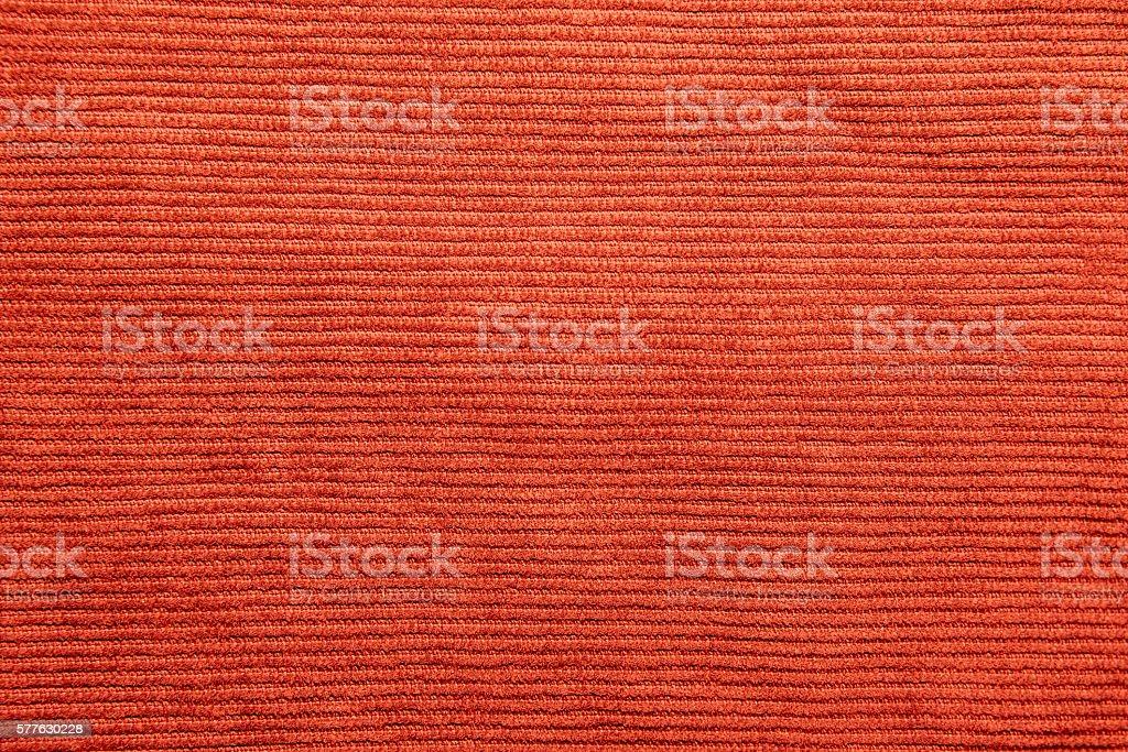 Ribbed corduroy texture background stock photo