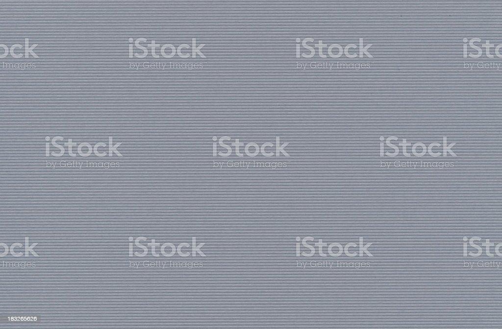 Ribbed grey card royalty-free stock photo