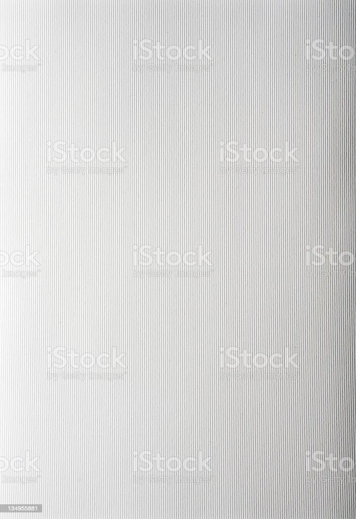 Ribbed paper with tone gradient stock photo