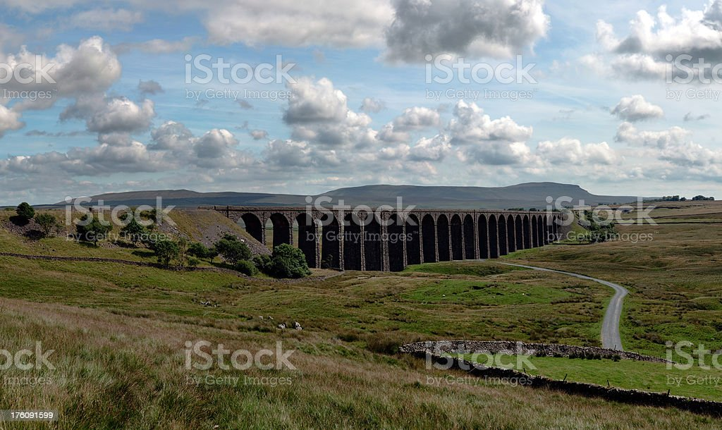 Ribblehead Viaduct 37MP stock photo