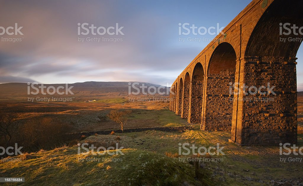 Ribblehead Viaduct II stock photo