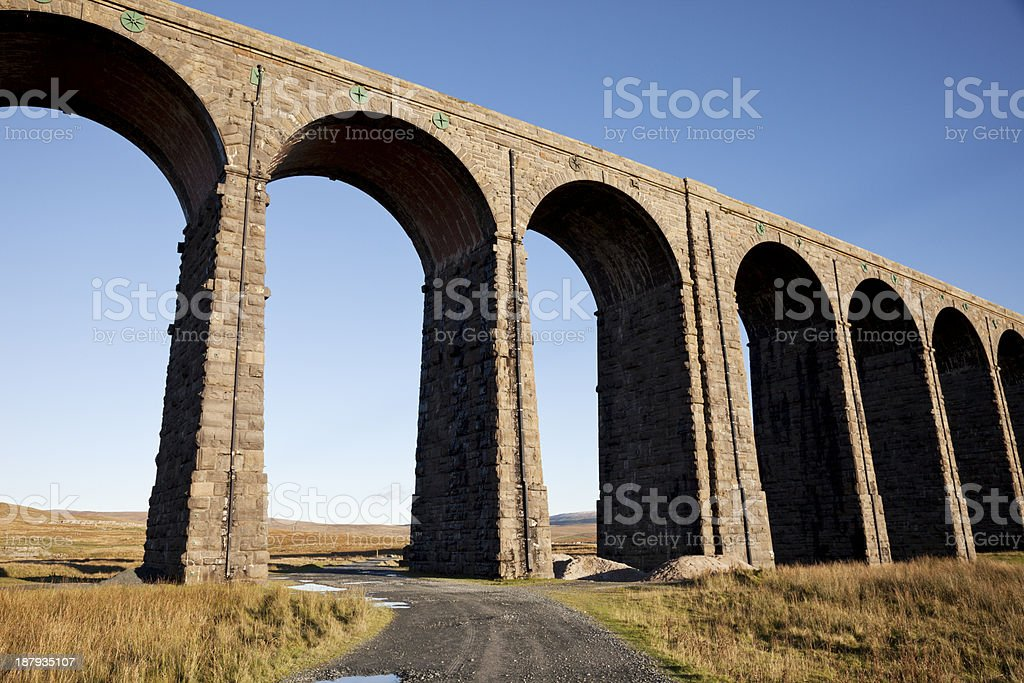 Ribblehead Viaduct royalty-free stock photo