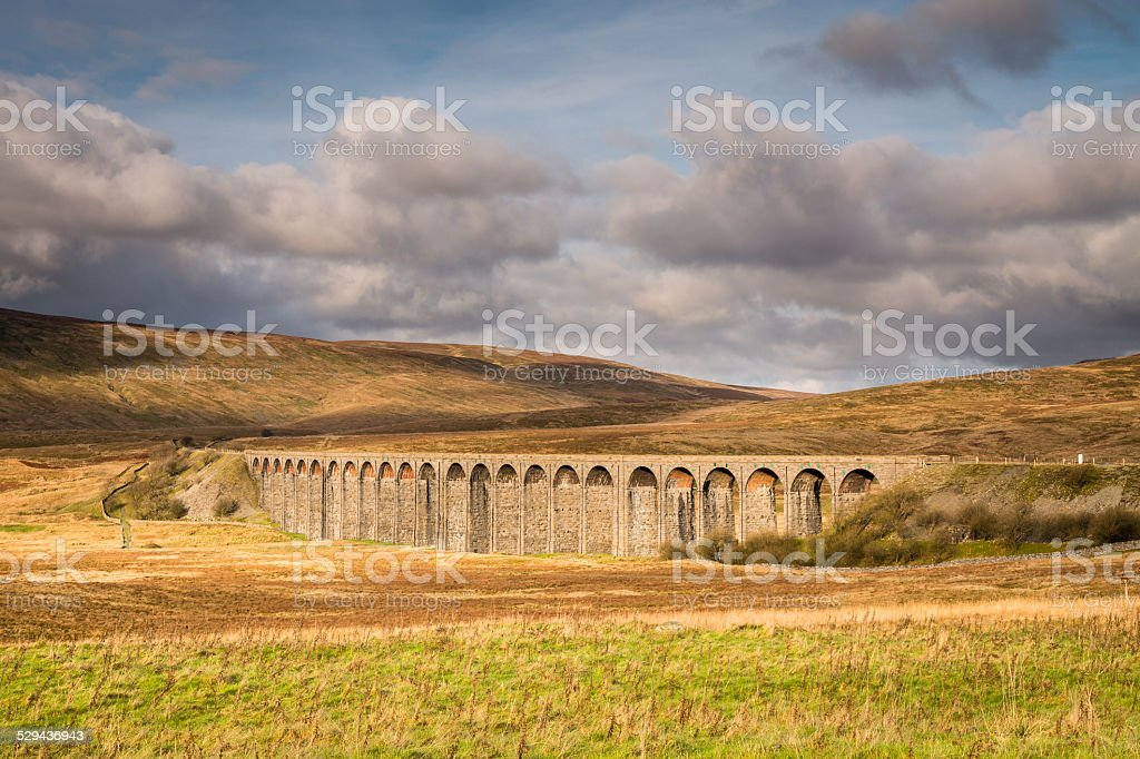Ribblehead Viaduct stock photo