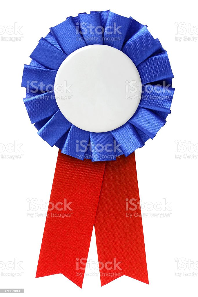 Ribbon / Award royalty-free stock photo