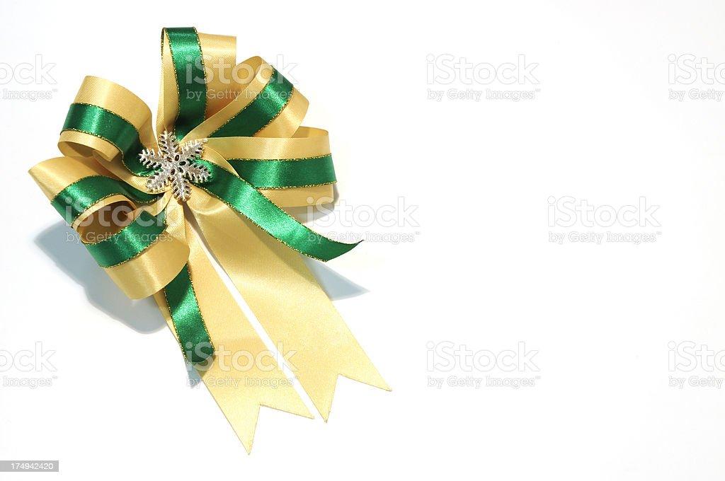 ribbon bow stock photo