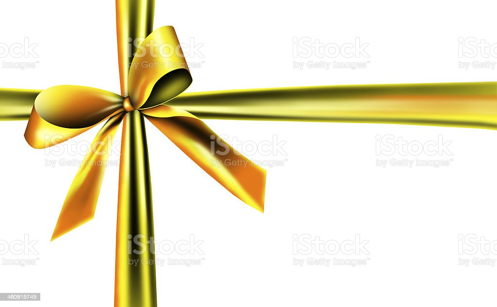 ribbon for a gift stock photo