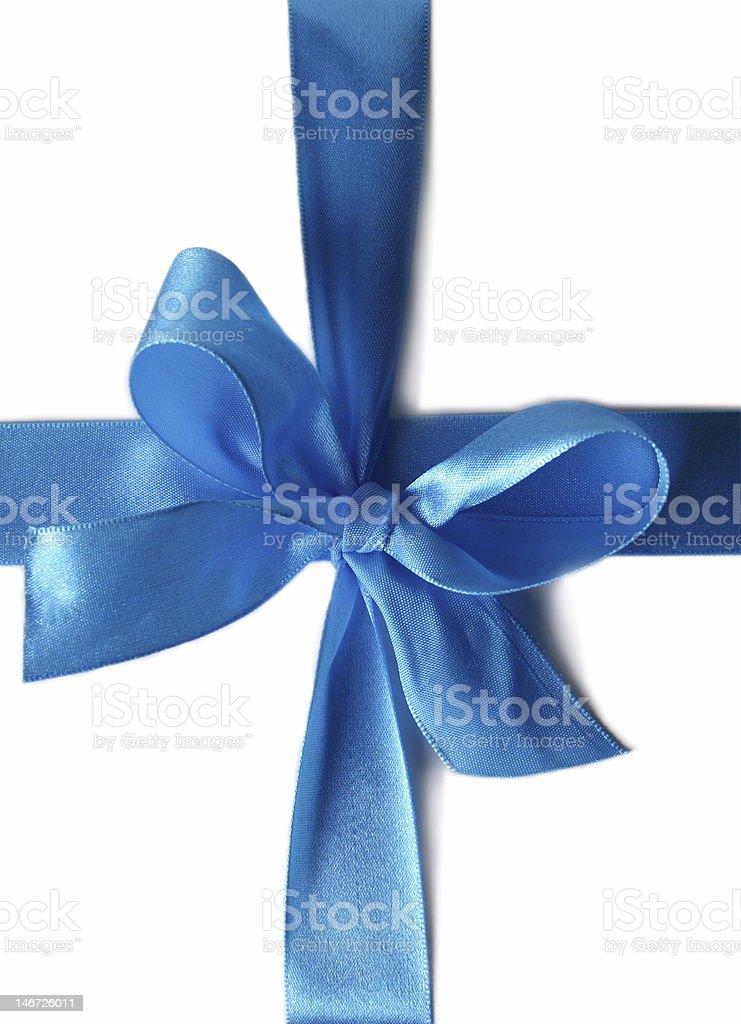 ribbon for gift box stock photo