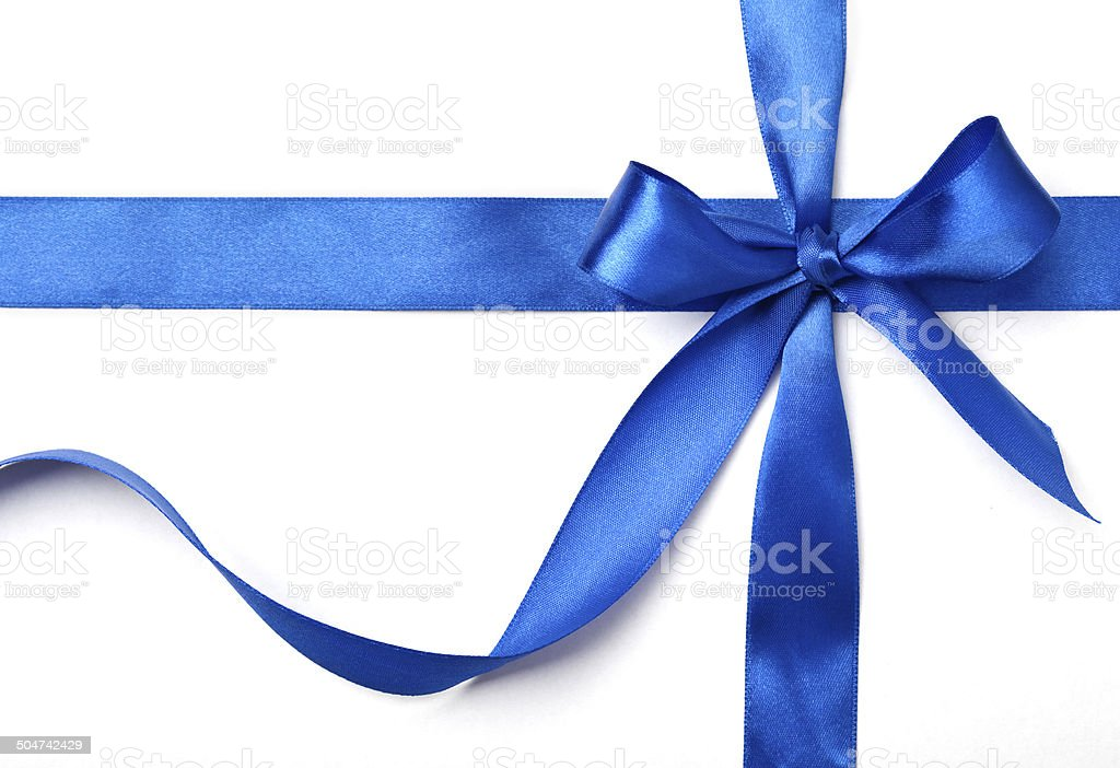 ribbon for gift stock photo