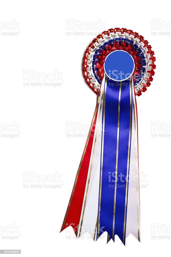 Ribbon for winner royalty-free stock photo