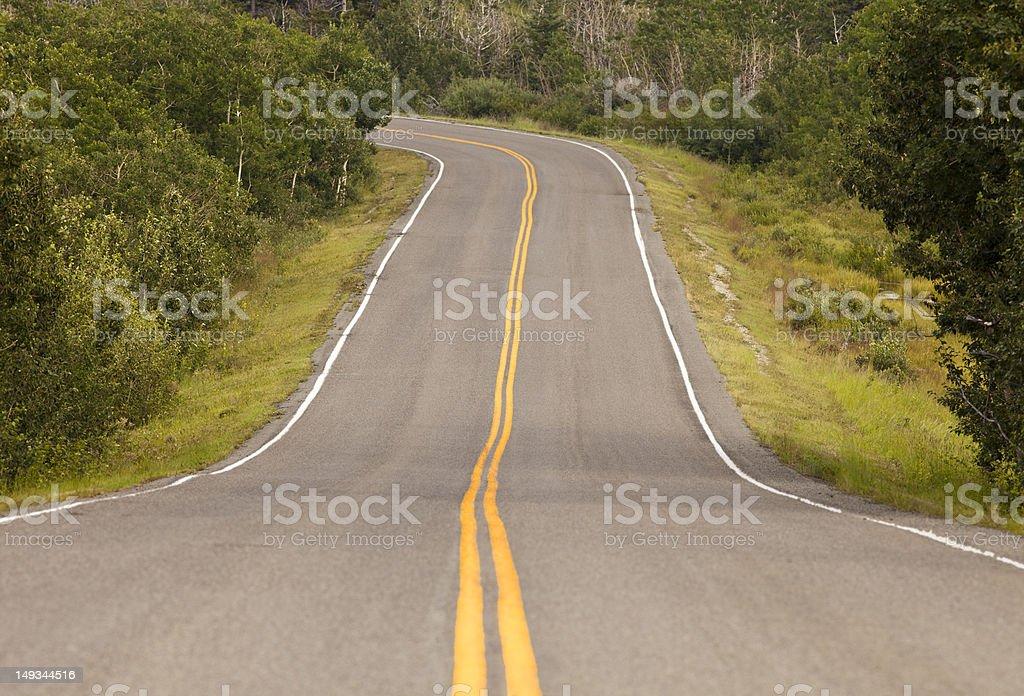 Ribbon Of Highway royalty-free stock photo
