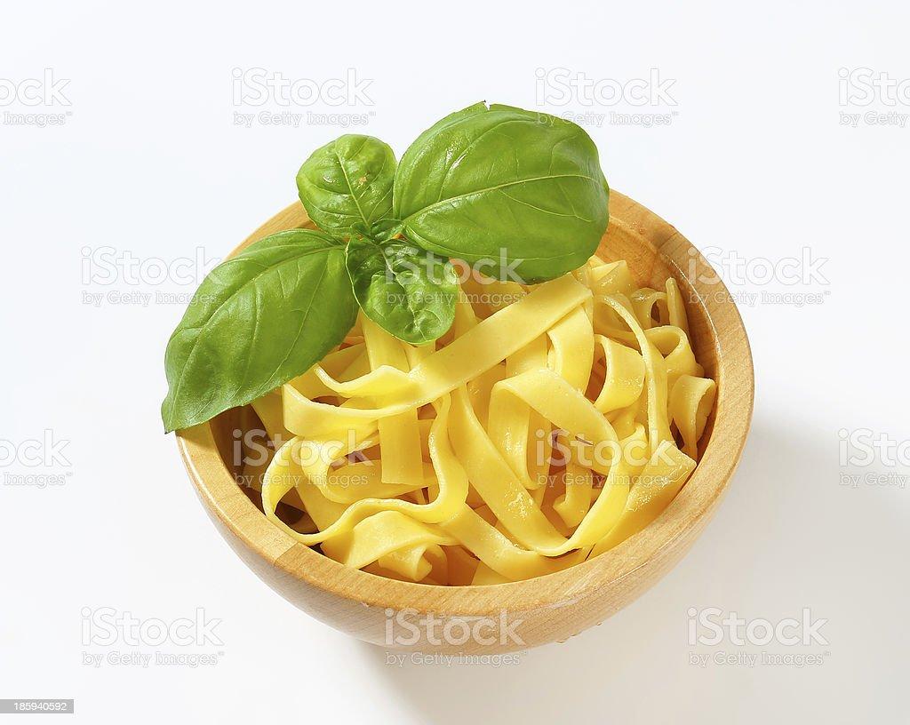 Ribbon pasta royalty-free stock photo